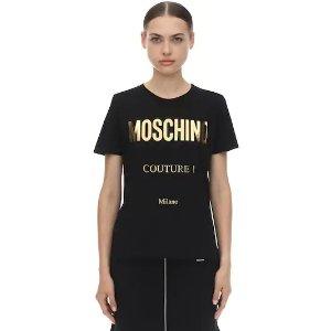 Moschino额外8折Logo上衣