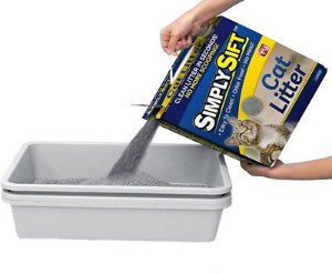 As Seen on TV Simply Sift Cat Litter Box - Chewy.com