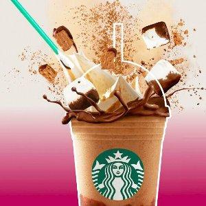内附隐藏配方Starbucks 星巴克 本周起 星冰乐每天下午固定时间 半价活动