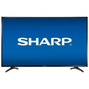 $399.99(原价$599.99)黑五价:50'' Sharp 4K UHD LED 高清智能电视 平价好选择