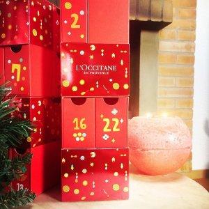 超低门槛免邮 + 11件好礼上新:L'Occitane 节日套装开售 $99收价值$198圣诞日历