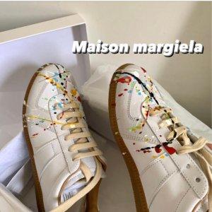 Maison Margiela喷墨德训鞋