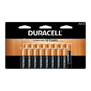 $19.39 + $19.39 Rewards Back20-Pack Duracell Coppertop Batteries (AA/AAA)