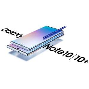 送Galaxy Buds耳机 + 无线充电板Samsung Note10/10+新品预售开启 双尺寸+挖孔屏+快充