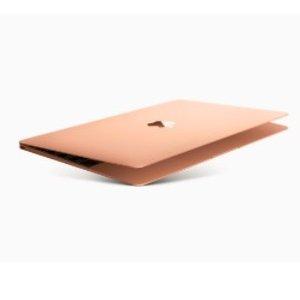 $1636(原价$2149)回国可退税Apple MacBook Air (2018) 13寸 256GB 玫瑰金