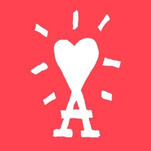 爱心T恤$200 情侣服好选择Ami Paris SS21明星同款潮服 收奶茶色、香芋紫新色卫衣