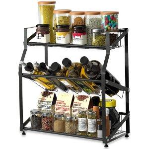 eletecpro Kitchen Spice Rack Organizer