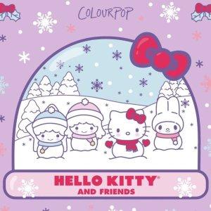 12月5日 5:00am 开售预告:Colourpop x Holle Kitty 限量彩妆 收割少女心