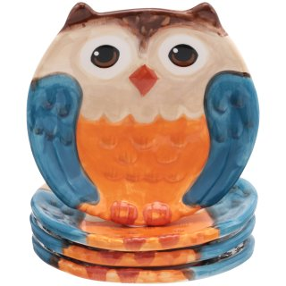 $6.97Mainstays Figural Owl Set of 4 Salad Plates @ Walmart