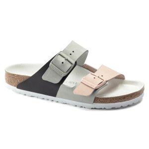 BirkenstockArizona 拼色拖鞋