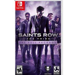 $39.99(原价$60.03)史低价:Switch《黑道圣徒3 安全版》GTA类型 包含全部DLC