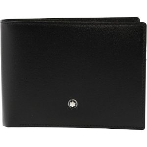 Montblanc Men's Meisterstuck 6 Cc Leather Wallet - Black by Montblanc
