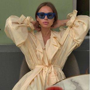 5折 衬衫连衣裙$197Low Classic 韩国本土版Celine 简约系带西装$294