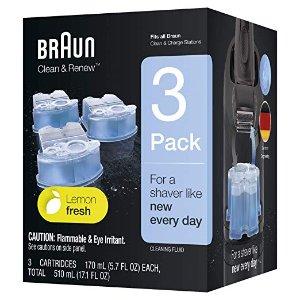 Braun Clean & Renew Refill Cartridges 3 Count