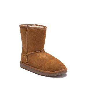 6c984466a14 Koolaburra by UGGKoola Faux Fur Lined Suede Short Boot (Little Kid   Big ...