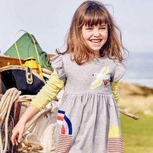 低至5折 无门槛包邮即将截止:Mini Boden 童装限时大促,人见人爱的高颜值+高品质