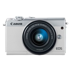 CanonEOS M100 EF-M 15-45mm IS STM Kit White