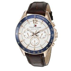 $86.06 (原价$114.05)闪购:Tommy Hilfiger 男士运动手表