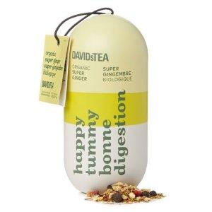 DAVIDsTEA买3件可享优惠解油消化茶 药丸系列