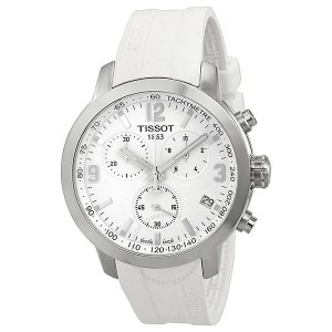 TissotPRC 200 Chronograph White Dial Men's Watch T0554171701700