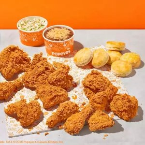 Proceeds Go to Families in NeedPopeyes NOLA Strong 12 Pc. Family Meal