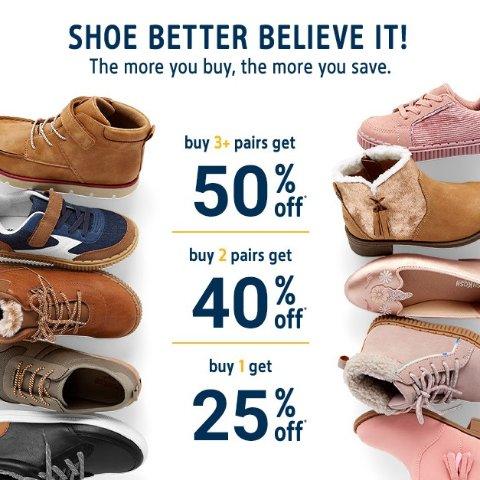 Up to 50% OffOshKosh BGosh Kids Shoes Buy More Save More