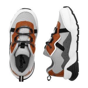 OshKosh B'gosh买2双6折,买3双5折小童运动鞋