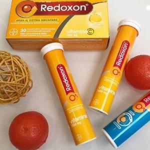 $4.25(原价$5.99)REDOXON 力度伸维生素C 泡腾片(15片) 抗感冒神器