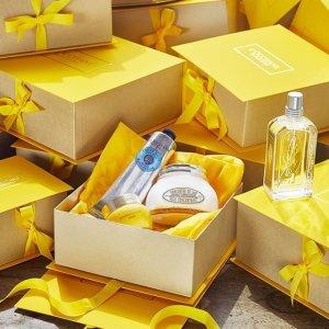 Free Beauty GiftAny $55 Purchase @ L'Occitane