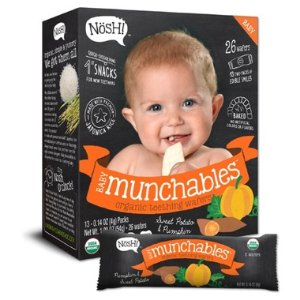 Nosh Tot Munchables 南瓜 土豆 有机米饼