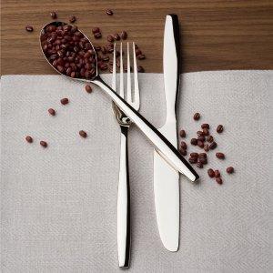 $238.38(原价$595.95)Nambé 45件套装餐具 精致耐用 为饭桌增添优雅气息