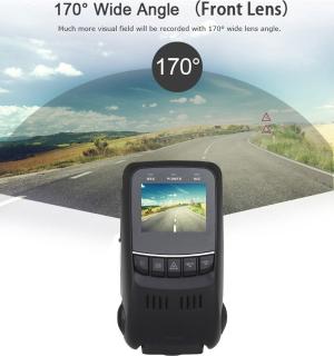 $12.99 清仓价白菜价:ODGear 1080P 全高清超大广角双摄像头行车记录仪