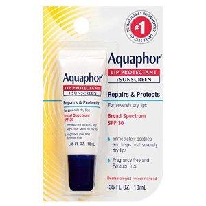 $2.84(原价$4.99)再降!Aquaphor 修护润唇膏10ml