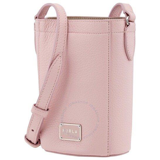 玫瑰粉水桶包