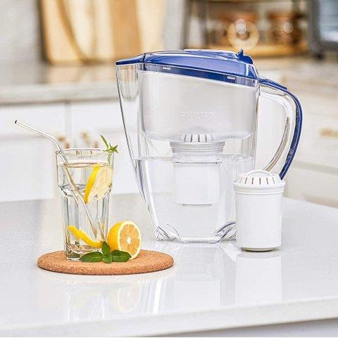 5.3折起 滤水壶+2个滤芯€19.99Brita 滤水壶、滤芯直降 现在入手一整年不愁喝水问题
