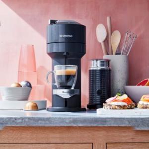5.5折起+减$10Nespresso 咖啡机 经典小红胶囊机$89、Vertuo套装$159