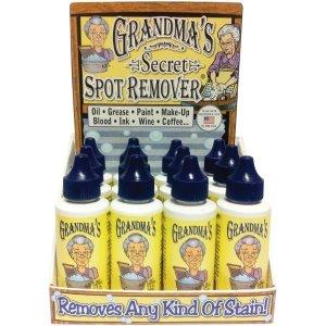 £5.38/瓶 污渍去无踪白菜价:Grandma's Secret 奶奶的秘密 常年断货的衣物去渍神器热促
