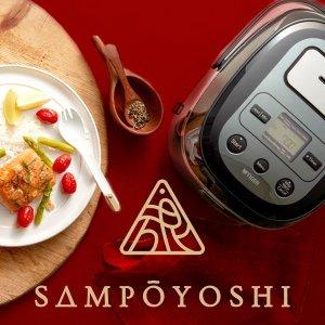 8折优惠+送价值$49.99午餐盒最后一天:Sampoyoshi厨用小家电热促 收象印 x Hello Kitty联名款