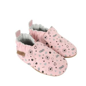 Robeez#GirlyGirl Baby Shoes, Soft Soles