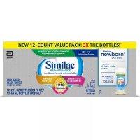 Similac Pro-Advance 液体奶12瓶*2盎司