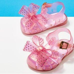 4折起Mini Melissa 童鞋促销 果冻质地,软萌可爱