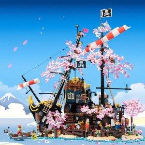 低至7折+额外8折Lego 精选哈利波特、星战、科技、城市系列本周再降价