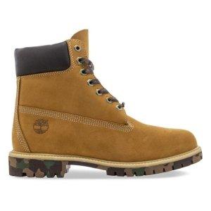 Timberland男款 迷彩底 6-Inch 防水靴