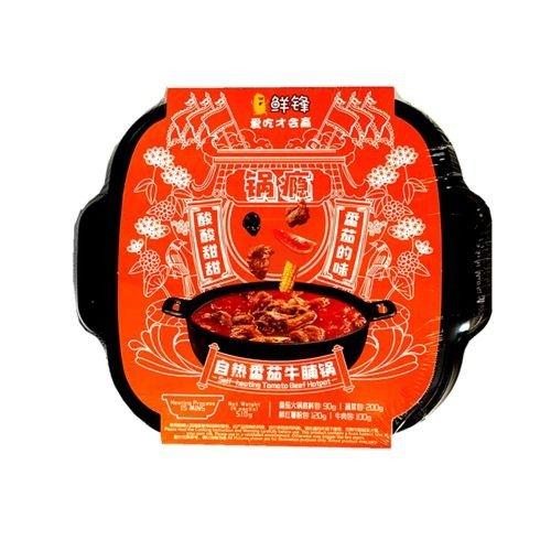 鲜锋自热火锅番茄牛腩味 510g