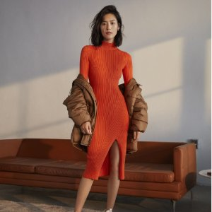 H&MRib-knit Dress