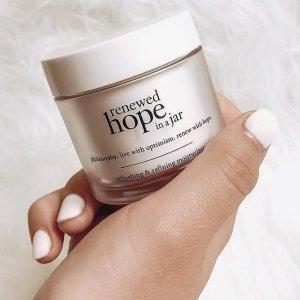 Buy 1 Get 1 FreeRenewed hope in a jar Moisturizer @ Philosophy