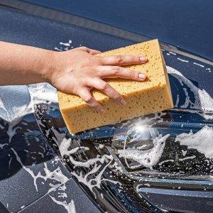 2块折后€9.56 原价€12.99APA 清洁海绵 超级吸水 粗孔泡沫丰富 擦车必备