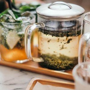 额外8折 $7收有机丝龙茉莉Davids Tea 绿茶专场 清晨一杯暖茶 开启好心情 内附绿茶功效