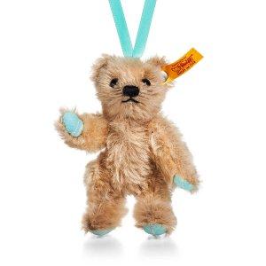 可以挂在圣诞树上!小熊