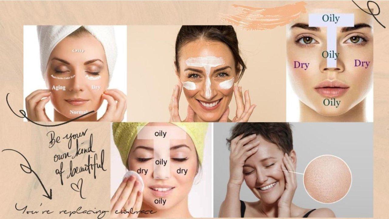 皮肤类型, 皮肤问题,护肤品种类英文大全